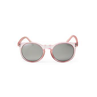 Cheapo Malibu Sunglasses - Pink / Silver Mirror
