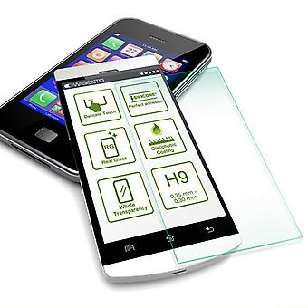 2 x premium 0.3 mm armoured glass shock film for WIKO Robby protection accessory case