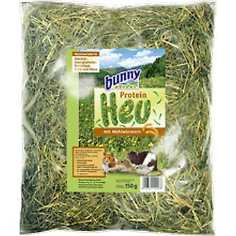 Bunny FreshGrass Hay  Protein-Hay with Mealworms