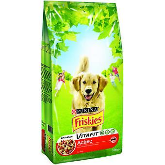 Friskies Active Meat (Dogs , Dog Food , Dry Food)