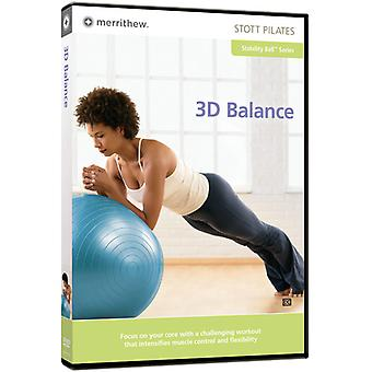 Stott Pilates: 3-D Balance [DVD] USA import