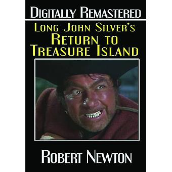 Long de John Silver retour à importation USA Treasure Island [DVD]