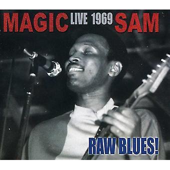 Magic Sam - rå Blues Live: Magiv Sam Live 1969 [CD] USA importerer