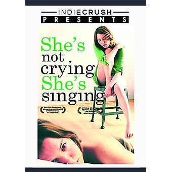 Hun er ikke græder hun sang [DVD] USA import