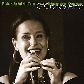 Peter Scharli & Ithamara Koorax - O Grande Amor [CD] USA import