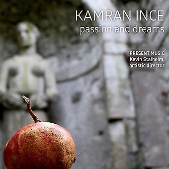 Ince, K. / Clippert, Jennifer / Richman, Wendy - Kamran Ince: Passion & Dreams [CD] USA import