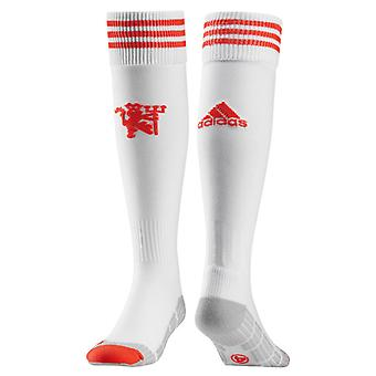 2015-2016 Man Utd Adidas Third Socks (White)