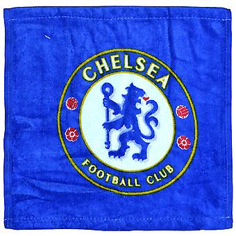 Chelsea FC Official Football Crest Design Face Cloth Set (Pack Of 12)