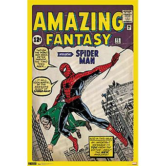 Spider-Man - Cover Poster Poster afdrukken