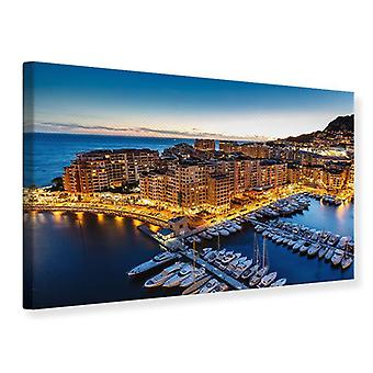 Canvas Print-Principality of Monaco