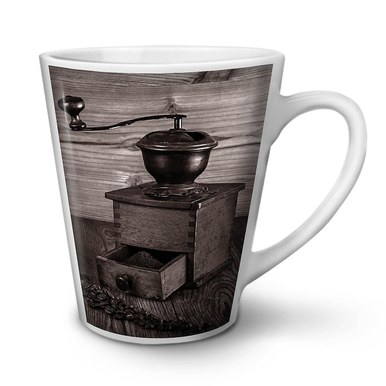 OzWellcoda 12 En Nouvelle Tasse Café Cool Ancien Latte Céramique Blanche 5A4R3jL