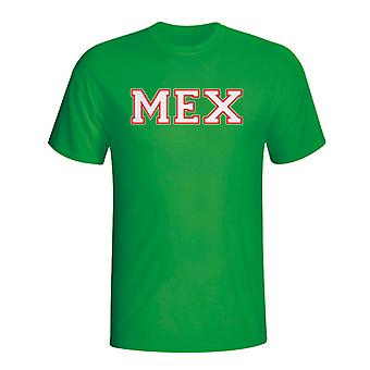 Mexico land Iso T-shirt (groen) - Kids