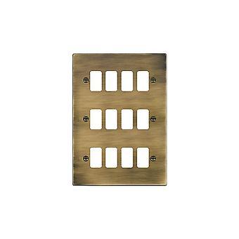 Hamilton Litestat Hartland Antik Messing 12g Apert Gridfix Platte + Netz