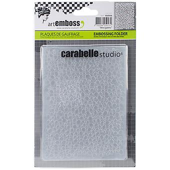 Carabelle Studio Embossing Folder-Mini Galets AE60006