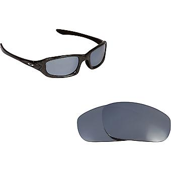 Fives (2009) Replacement Lenses Silver Mirror by SEEK fits OAKLEY Sunglasses