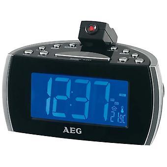 Projetor AEG MRC4119P rádio-relógio
