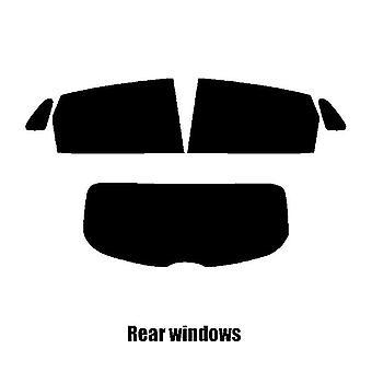 Pre cięcia okna odcień - Hyundai Kona SUV - 2017 i nowsze - tylne okna