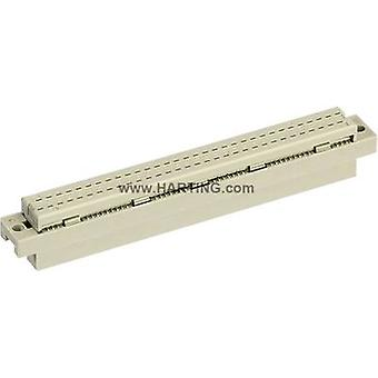 Edge connector (receptacle) 09 03 264 6828 Total number of pins 64 No. o