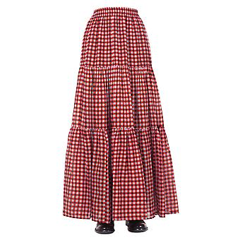 Jucca ladies J2715000 red cotton skirt