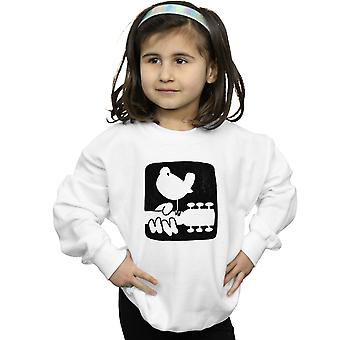 Woodstock Mädchen Gitarre Logo Sweatshirt