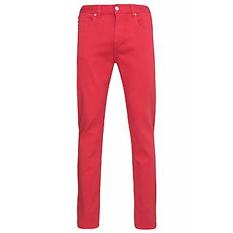 Sweet SKTBS slim colored trousers mens jeans red of jeans trend