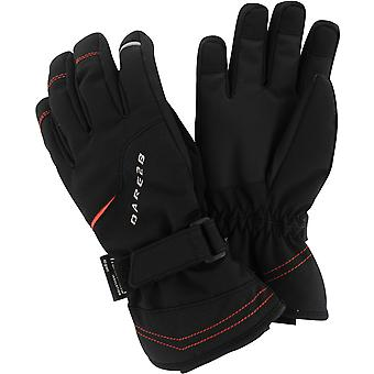 Dare2b Boys Handful Waterproof Breathable Insulated Ski Gloves Black