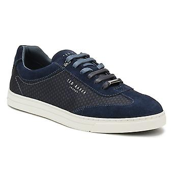 Ted Baker Mens Dark Blue Phranco Trainers