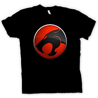 Womens T-shirt - Thundercats Red / Black Logo