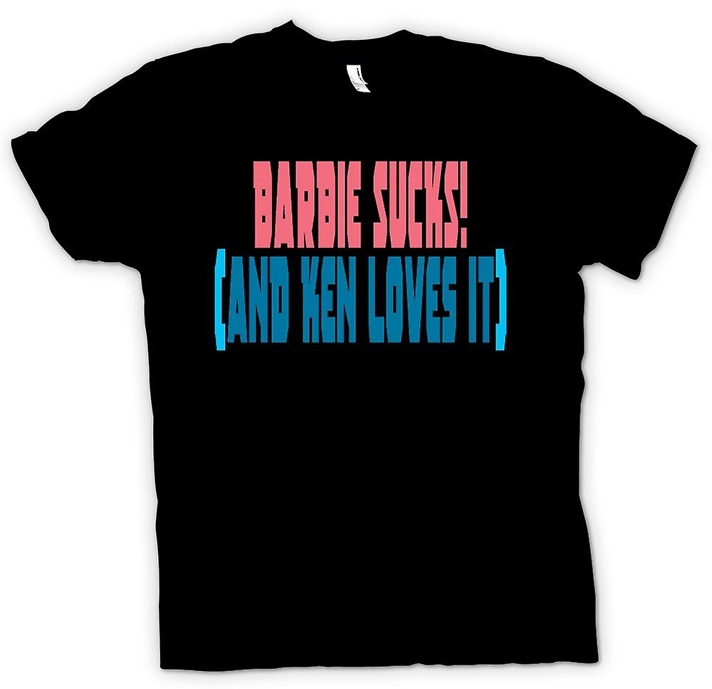 Mens t-shirt-Barbie fa schifo! (E Ken lo ama) - preventivo