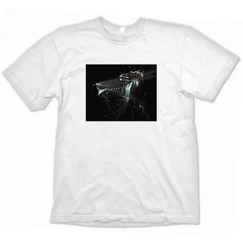 Herr T-shirt-Deep Sea Serpent avgrunden kvinnor