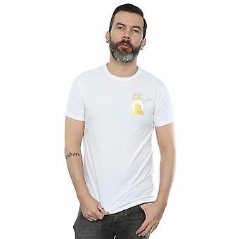 Disney Men's Mary Poppins Snowball Chest T-Shirt