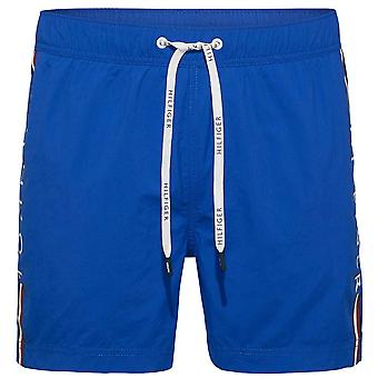 Tommy Hilfiger Logo Leg Swim Shorts, Lapis Blue, X Large