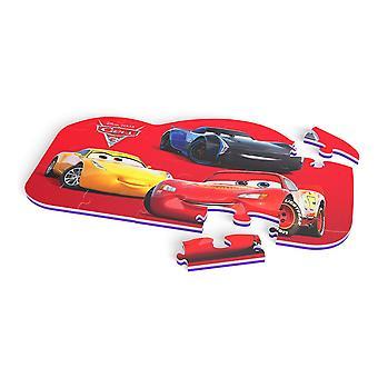 Disney Cars 3 vloer Mat puzzel met 25 stuks (TTMZ202)