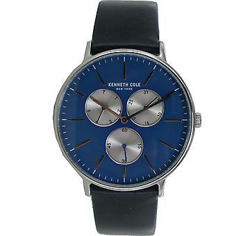 Kenneth Cole New York men's watch wristwatch leather 10031463