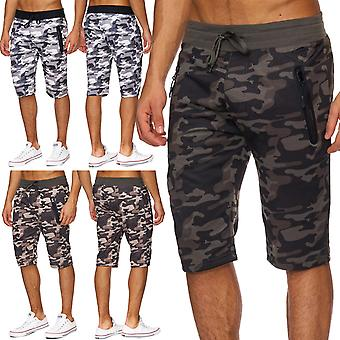 Mens Camouflage Shorts Short Military Sweatpants Army Army Sport Fitness Camouflage Patterns