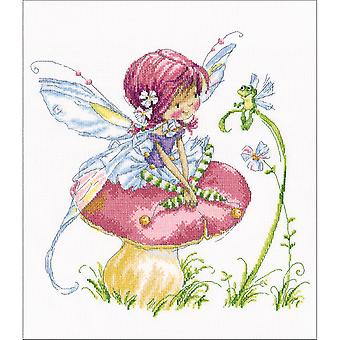 Forest Fairy Counted Cross Stitch Kit-13.75