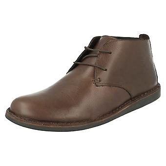 Mens Padders Grain Leather Ankle Boots Judd