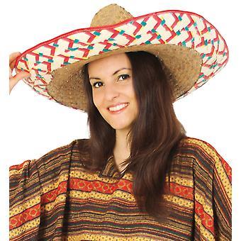 Cappello di paglia Messico natura del Sombrero