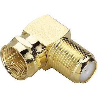 Sat adapter[F plug-F connector] GoldRenkforce