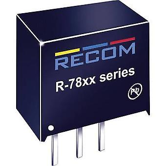 RECOM R-782.5-1.0 DC/DC converter (print) 2.5 Vdc 1 A 2.5 W No. of outputs: 1 x