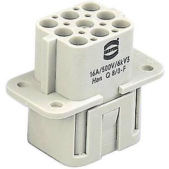 Socket inset Han® Q 09 12 017 3101 Harting 17 + PE Crimp 1 PC('s)