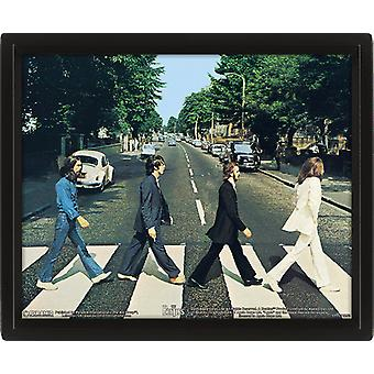 The Beatles Framed 3D Picture Abbey Road