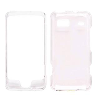 Wireless Solutions Snap-On Case for HTC G2/Vision - Clear