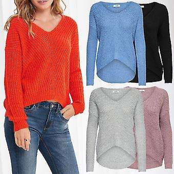 JDY Ladies Knitted Sweater Pullover JDYMEGAN Knit Noos Longsleeve Shirt Only