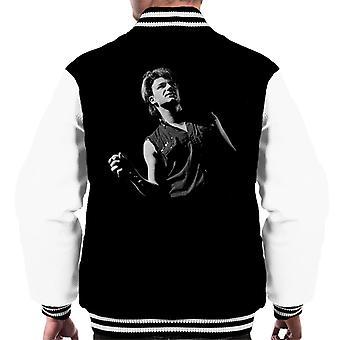 Bono Of U2 War Tour UK 1983 Men's Varsity Jacket