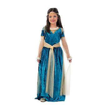 Medieval Princess child costume, princess dress costume kids girls medieval dress Queen