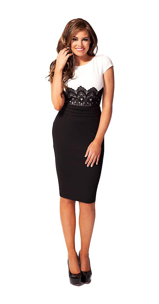 Waooh - Fashion - Short dress with lace