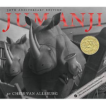 Jumanji (30th) by Chris Van Allsburg - 9780547608389 Book