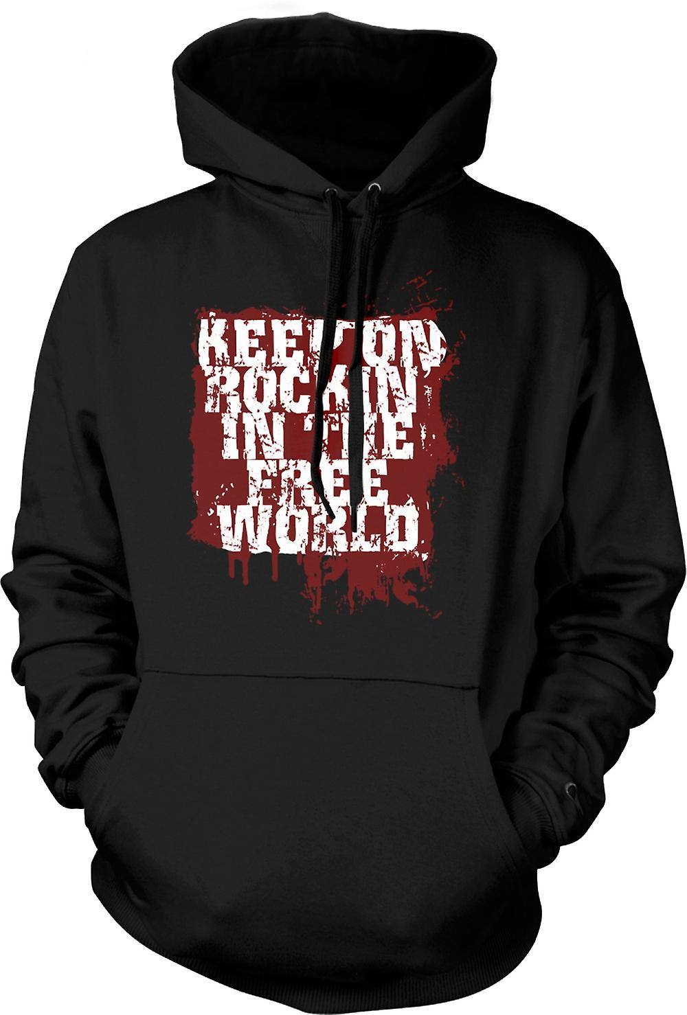 Kinder-Hoodie - Keep On Rockin In der freien Welt