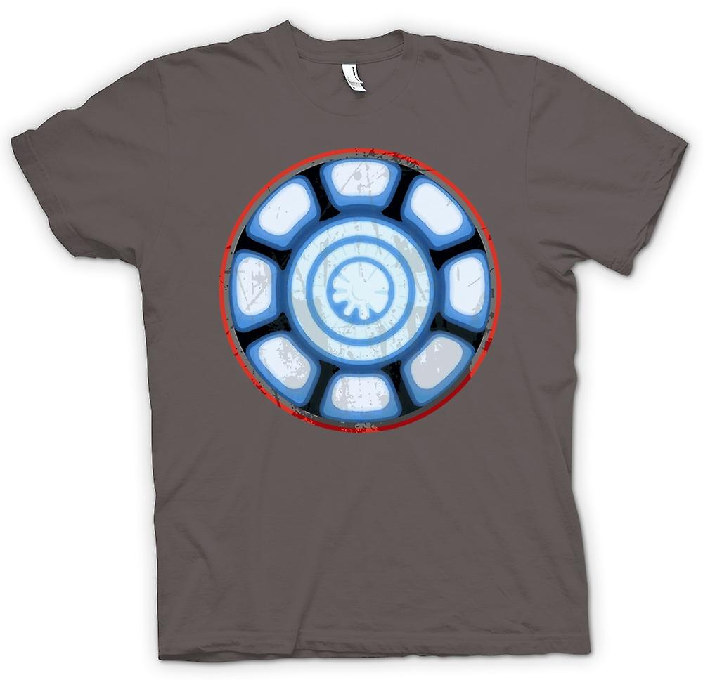 Womens T-shirt - Iron Man Arc Reactor Heart - Cool